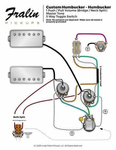 Hum Hum Master Tone Split Wiring Diagram