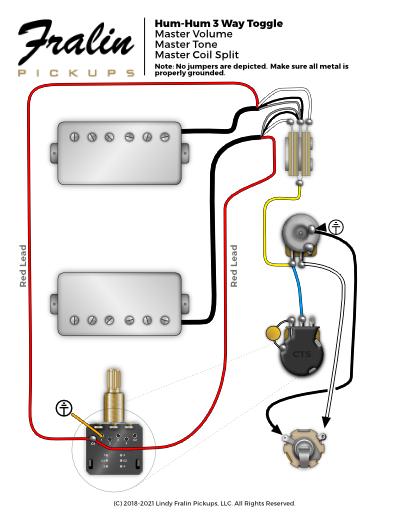 Fralin Pickups Hum Hum Wiring Diagram With Master Coil Split