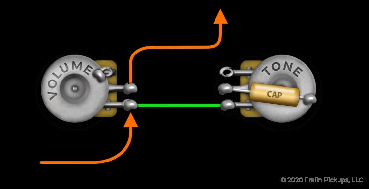 Standard Tone Pot Wiring