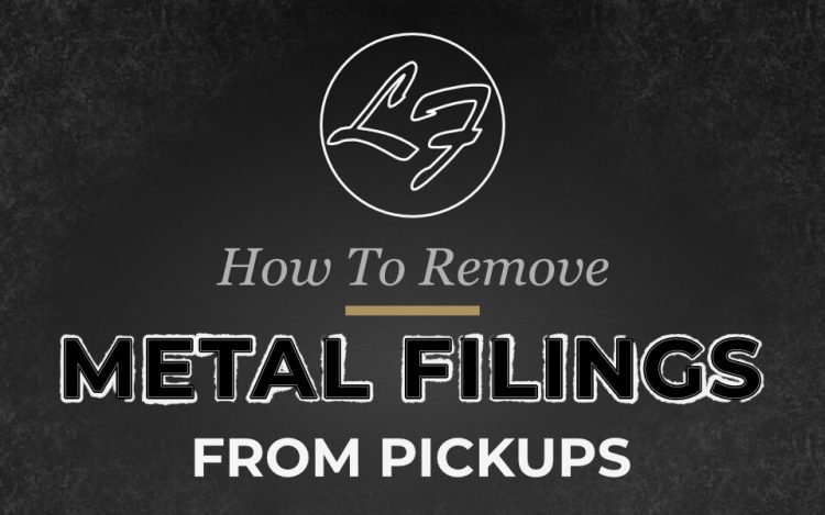 How To Remove Metal Filings From Guitar Pickups Cover Image